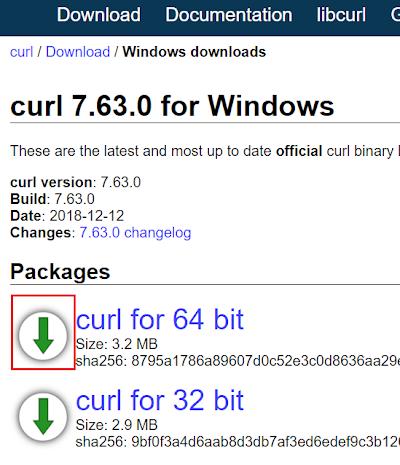 Windows 用 curl で、Googls Photo API を呼び出して画像の